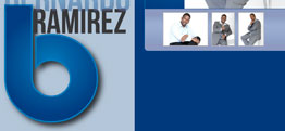 Bernardo Ramirez website design thumbnail