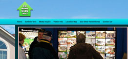 KW Home Show website design thumbnail