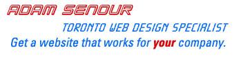 Adam Senour, Toronto Web Design Specialist logo