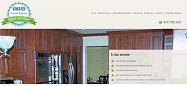 Award Kitchen Refacers Small Portfolio Screen Capture