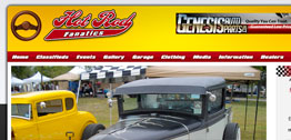 Hot Rod Fanatics Small Portfolio Screen Capture
