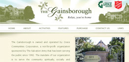 The Gainsborough Small Portfolio Screen Capture